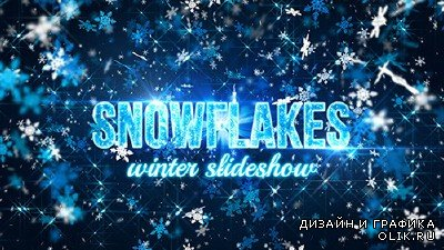 Snowflakes (winter slideshow) - Project for AFEFS (Videohive)
