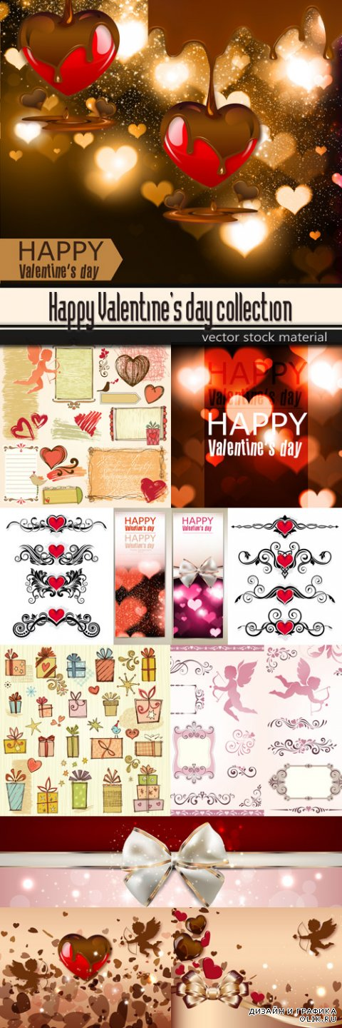 Happy Valentine's day collection