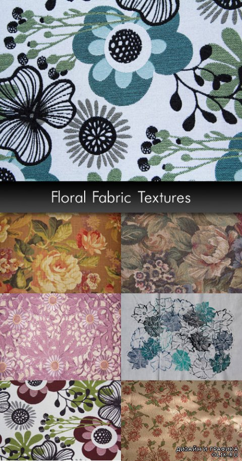 Floral Fabric Textures