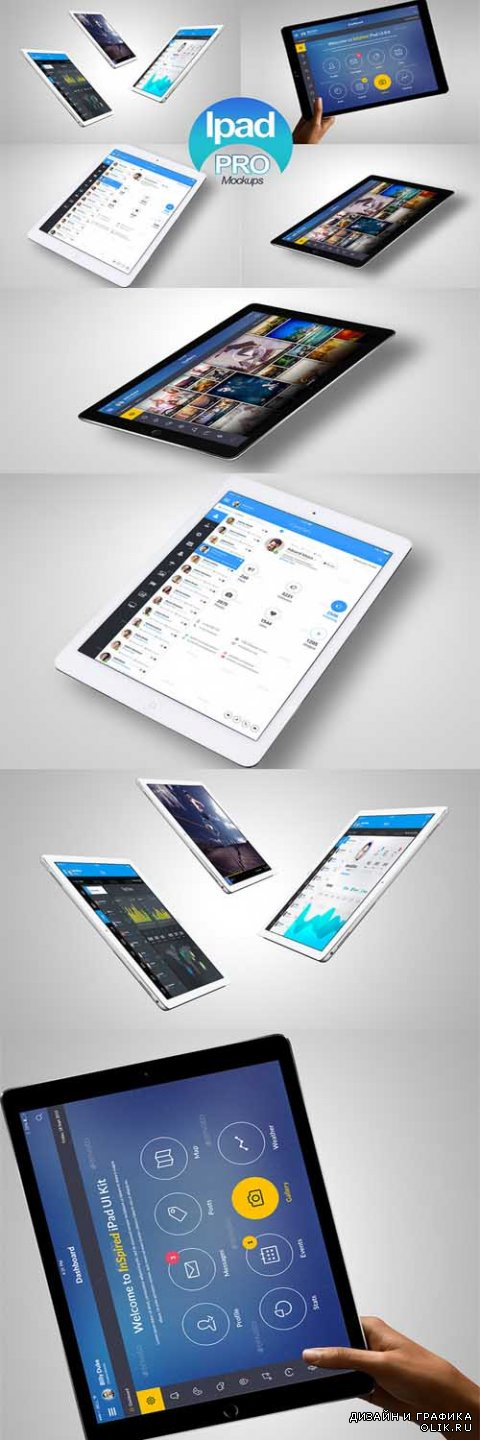 Ipad Pro Tablet Mock-Up - 391661
