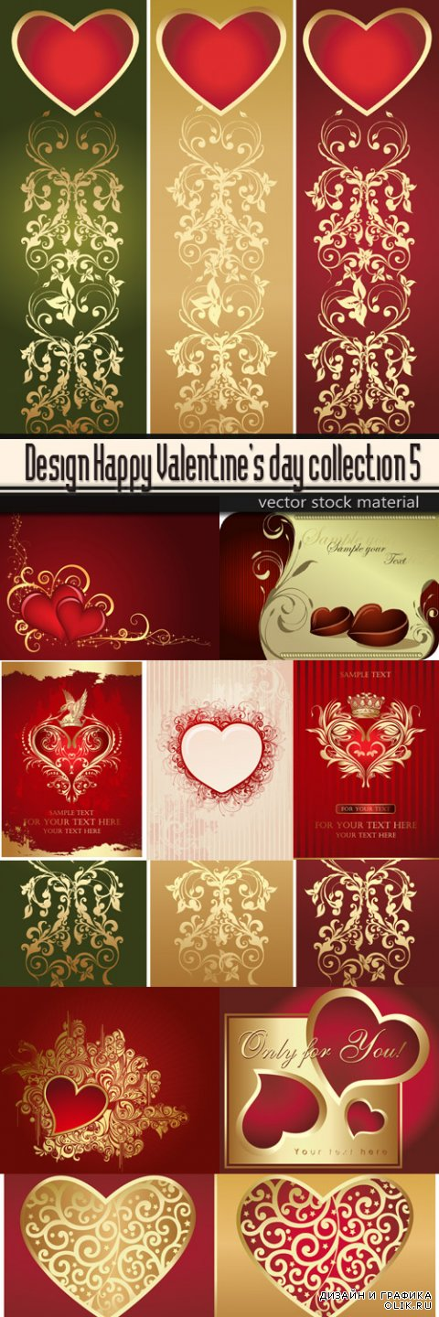Happy Valentine's day collection 5