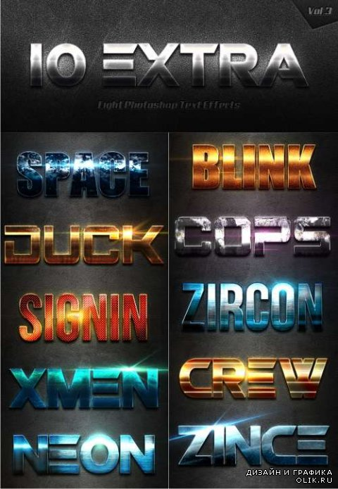 10 Extra Light Text Effects Vol.3 14469567