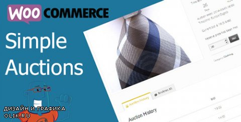 CodeCanyon - WooCommerce Simple Auctions v1.1.29 - 6811382