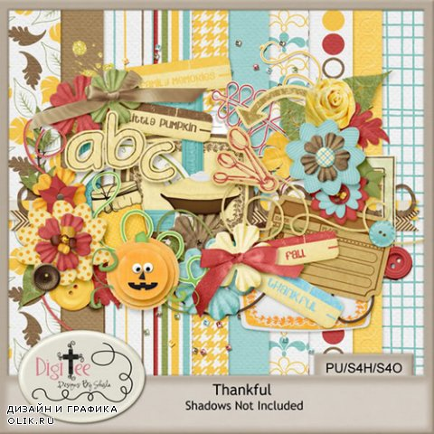 Scrap Kit - Thankful