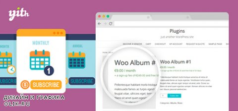 YiThemes - YITH WooCommerce Subscription v1.1.0