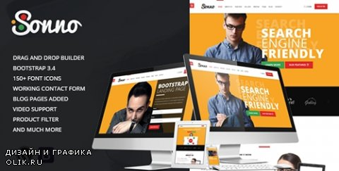 t - Sonno v1.0.3 - Startup Marketing Landing Page WP Theme - 13554894