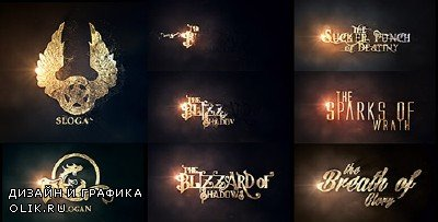 Burn To Be Gold - Project for AFEFS (Videohive)