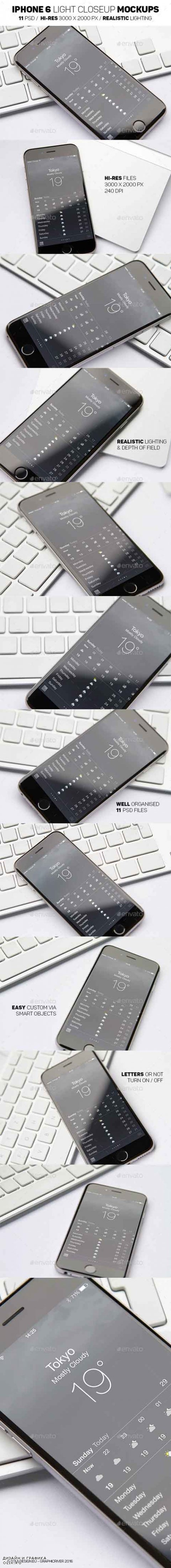 iPhone 6 Light Mockups 14959627
