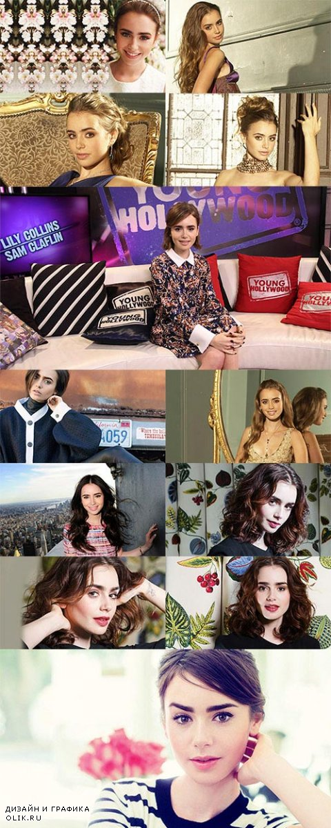Lily Collins Wallpapers