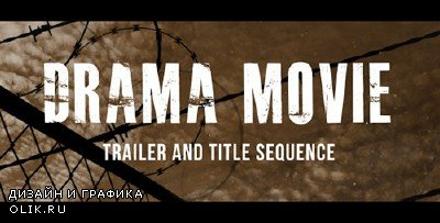 Drama Movie Trailer and Titles - Project for AFEFS (Videohive)