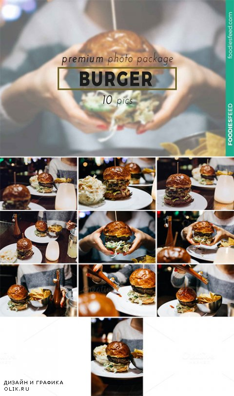 BURGER - 10 Premium Photos - Creativemarket 229966