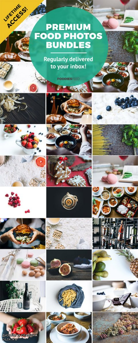 Premium Food Photos Bundles - Creativemarket 390203