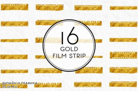 Gold Film Strip - 559752