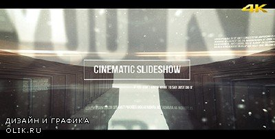 Cinematic Slideshow - Project for AFEFS (Videohive)