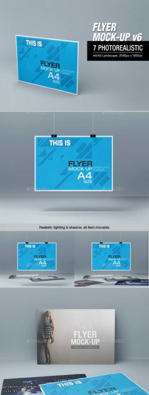Flyer Mock-up v6 - 10958378