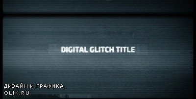 Digital Glitch Title - Project for AFEFS (Videohive)