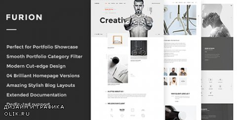 t - Furion v1.0 - Creative Blog & Portfolio WordPress Theme - 14825591