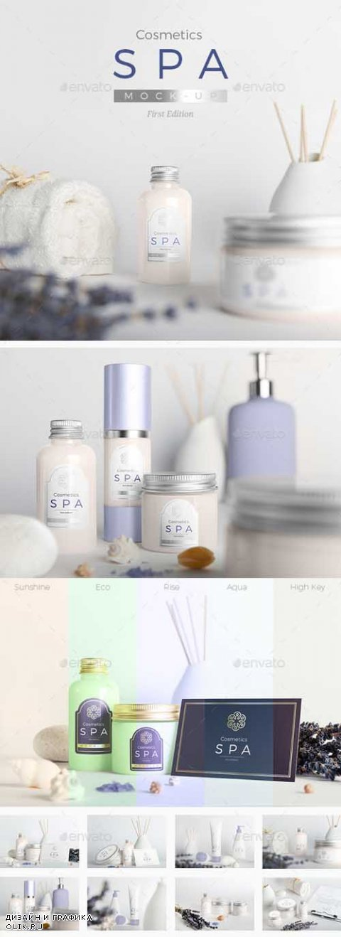 SPA Cosmetics Mock-Up V.1 - 14697437