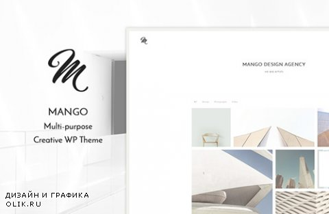 Mango - Portfolio WP Theme - CrеаtivеМаrкеt 526443