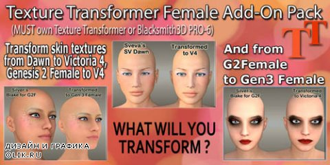 Texture Transverter Female  Add - On Pack