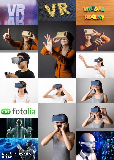 Stock Photo - Virtual Reality