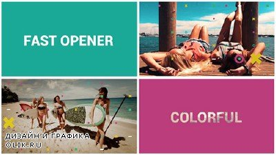 Fast Colorful Opener - Project for AFEFS (Videohive)
