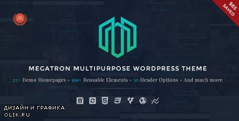 t - Megatron v1.9 - Responsive MultiPurpose WordPress Theme - 14063654