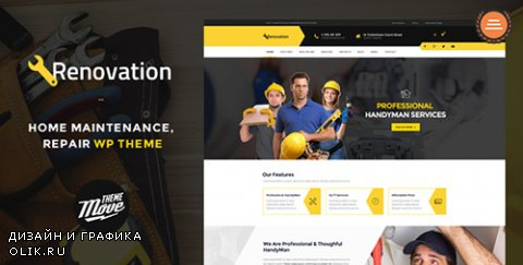 t - Renovation v1.3.9 - Home Maintenance, Repair Service Theme - 11444549