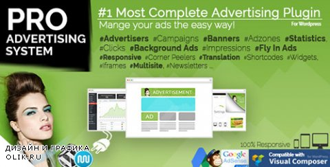 CodeCanyon - WP PRO Advertising System v4.6.18 - All In One Ad Manager - 269693