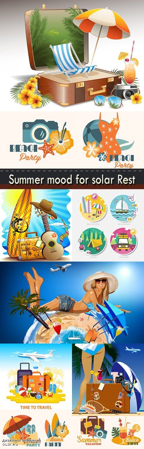 Summer mood for solar Rest