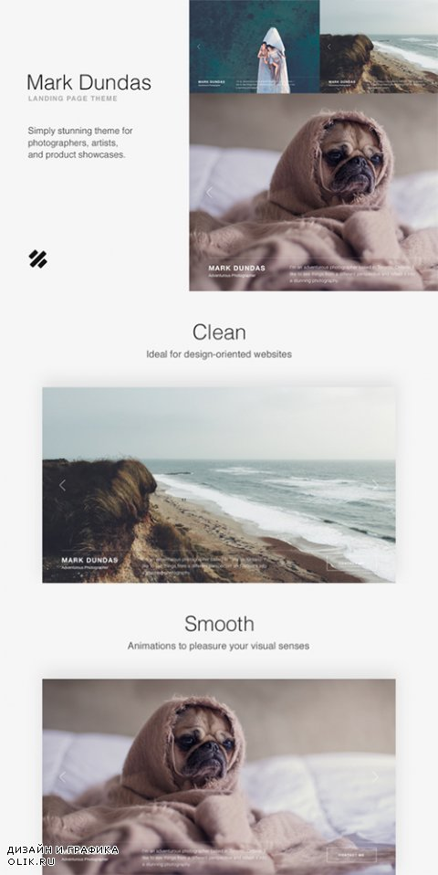 Dundas Photography Theme - CrеаtivеМаrкеt 667740