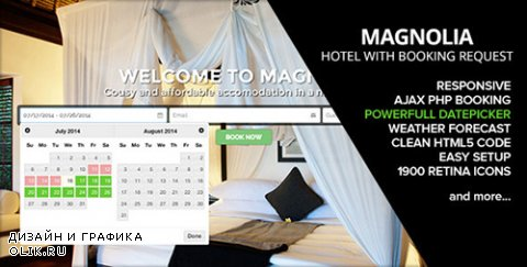 t - HOTEL MAGNOLIA v1.4 with Booking request - 8294014