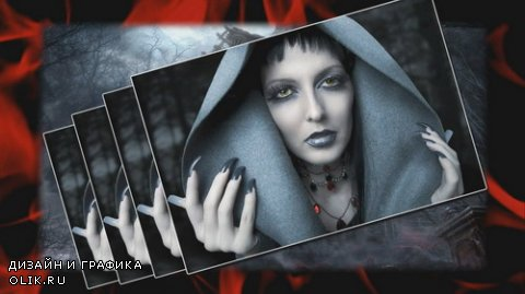 Gothic chic - Project for Proshow Producer