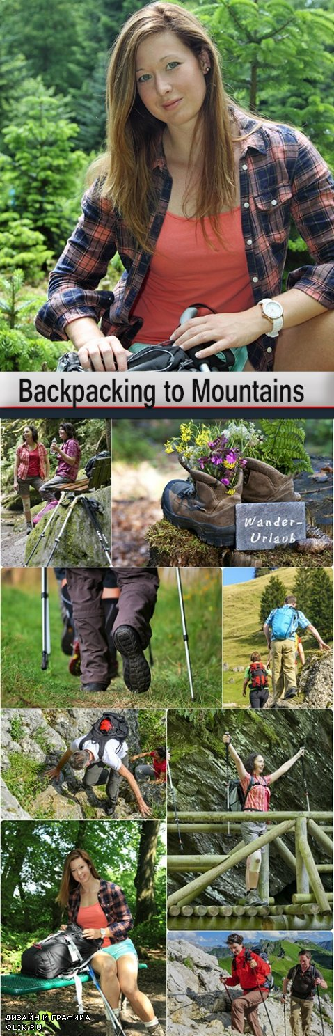 Backpacking to Mountains