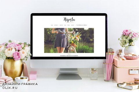 Hipsta - Elegant & Simple Blog Theme - CrеаtivеМаrкеt 659292