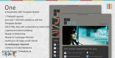 t - One Email Newsletter with Template Builder (Update: 27 January 12) - 149919