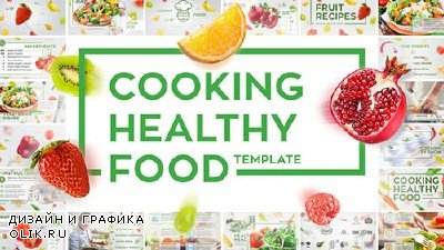Cooking Healthy Food - Project for AFEFS (Videohive)