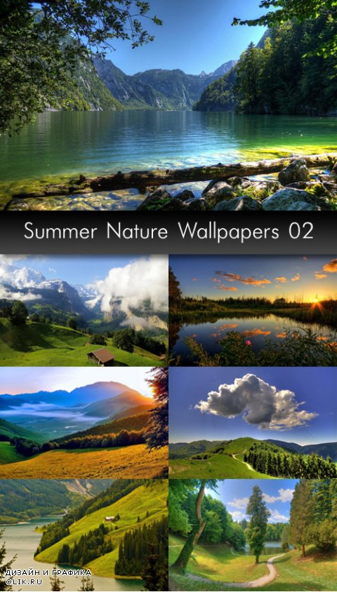 Summer Nature Wallpapers, pack 2