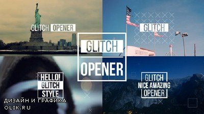 Dynamic Glitch Opener 2 - Project for After Effects (Videohive)