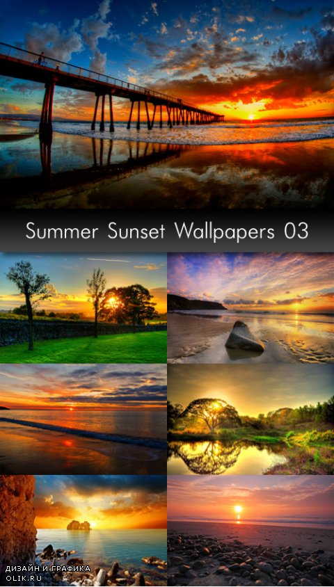 Summer Sunset Wallpapers, part 3