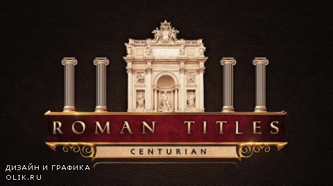 Roman Title Sequence - After Effects Template