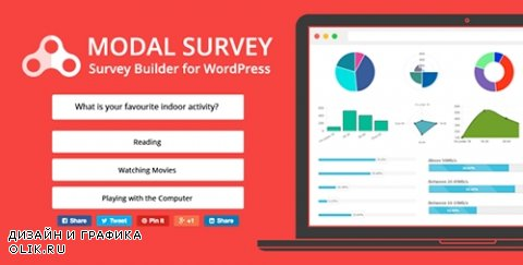 CodeCanyon - Modal Survey v1.9.6.1 - WordPress Poll, Survey & Quiz Plugin - 6533863