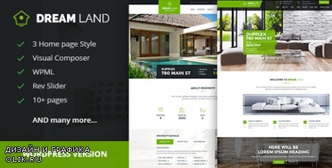 t - DREAM LAND v1.1 - Single Property Real Estate WordPress Theme - 14485863