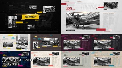 Slideshow Clean Timeline - Project for AFEFS (Videohive)