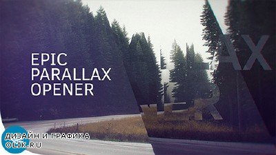 Epic Parallax Opener - Project for After Effects (Videohive)