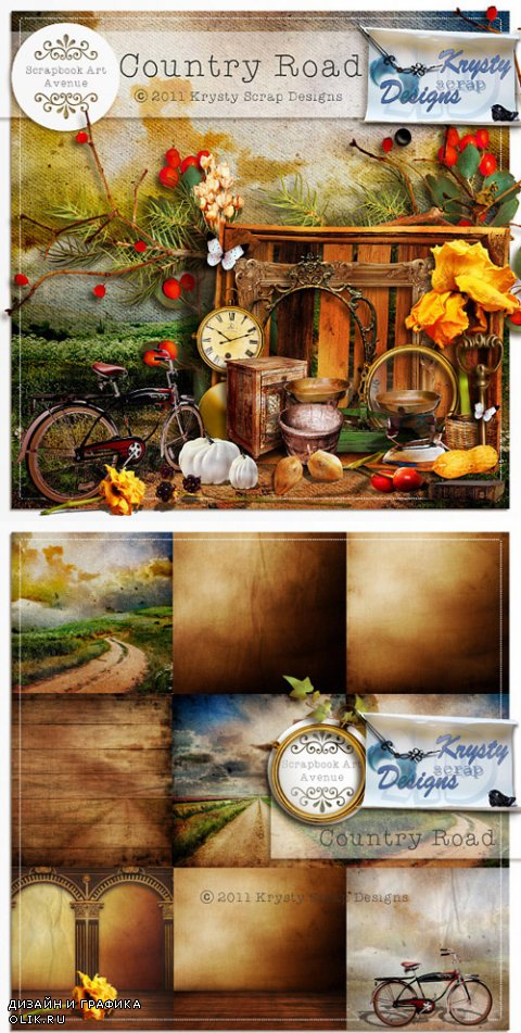 Scrap Kit - Village Road