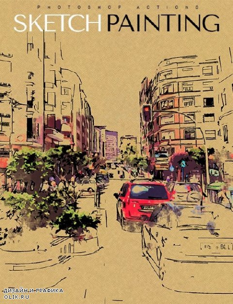 Sketch Painting - 17462872
