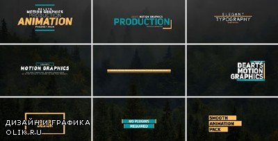 122 Title Bundle - Project for After Effects (Videohive)