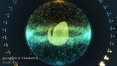 Swarm Particle Logo - Project for After Effects (Videohive)