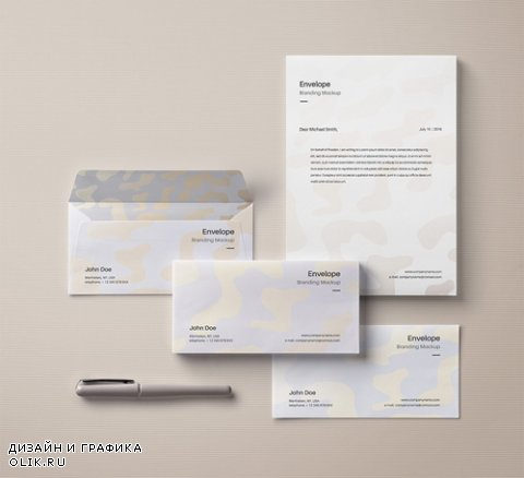 Envelope Letter Mockup Vol 5